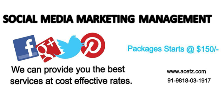 Social Media Marketing Management, Social Media Marketing Manager, Social Media Marketing Services, SMO Services India